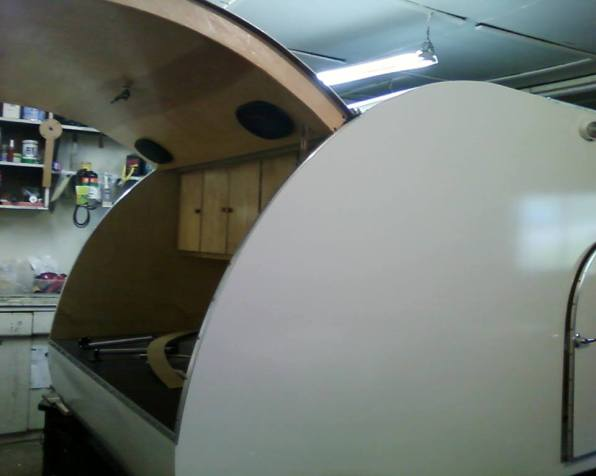 """Working on the Galley. We think a big """"squidknot"""" decal would add so much."""